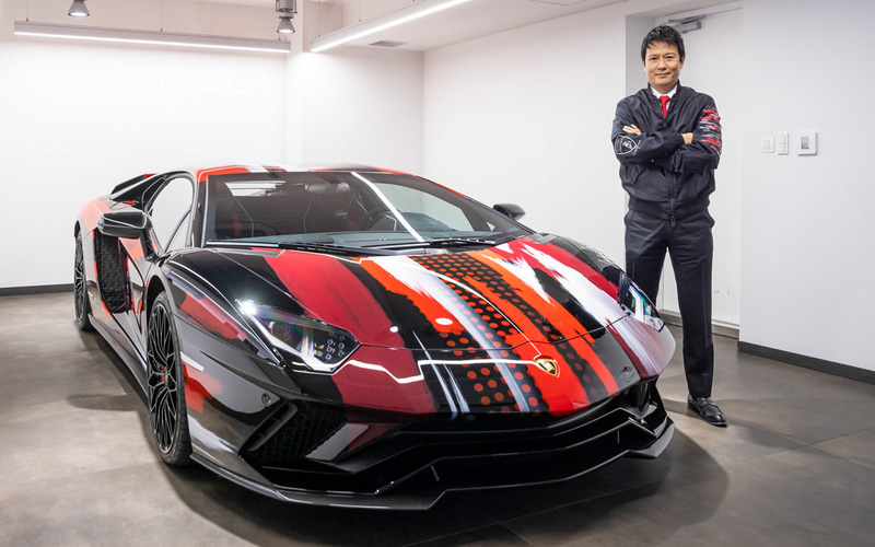 Yohji Yamamoto ヨウジヤマモト × ランボルギーニ Lamborghini