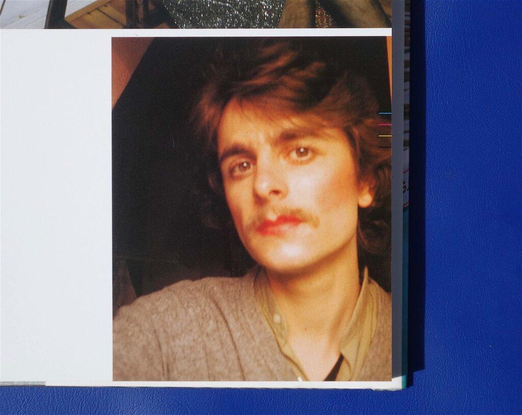 Berlin Selfie in the 80's