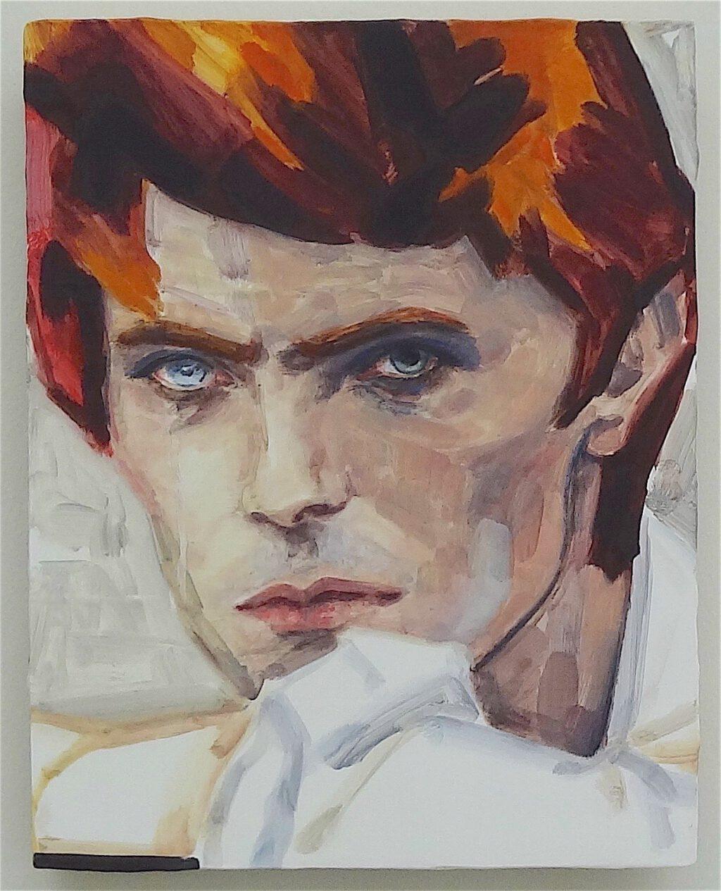 David Bowie by Elizabeth Peyton, 2012