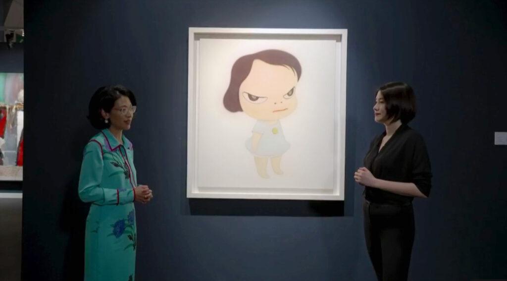 Sotheby's Hong Kong | Contemporary Art Evening Sale, NARA Yoshitomo work