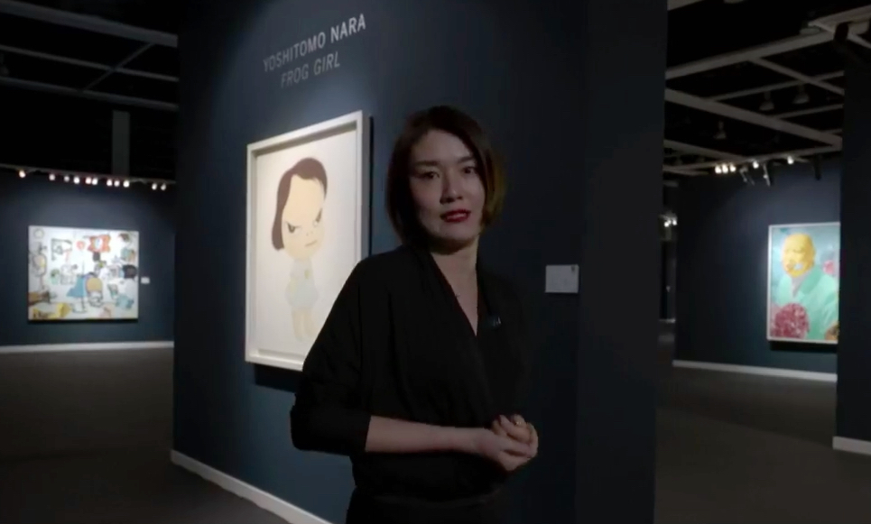 Sotheby's Hong Kong Contemporary Art Evening Sale TERASE Yuki, Head of Contemporary Art, Asia