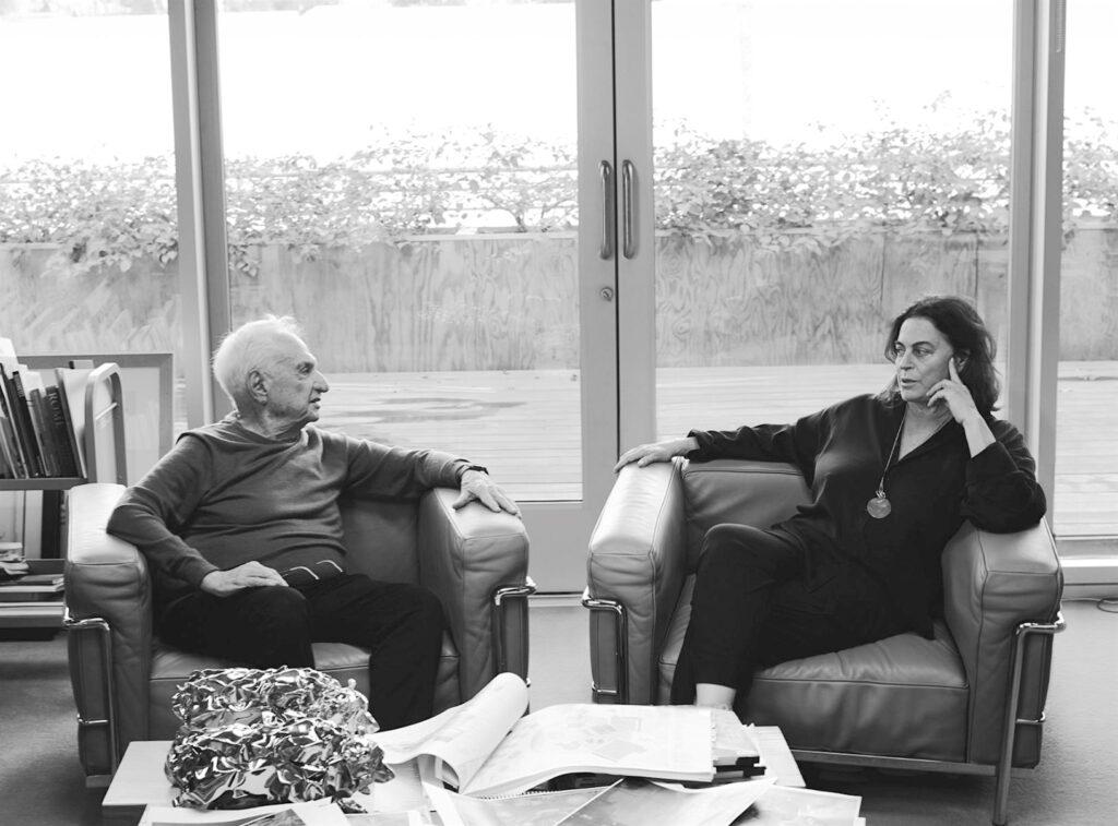 マヤ・ホフマンとフランク・O・ゲーリー