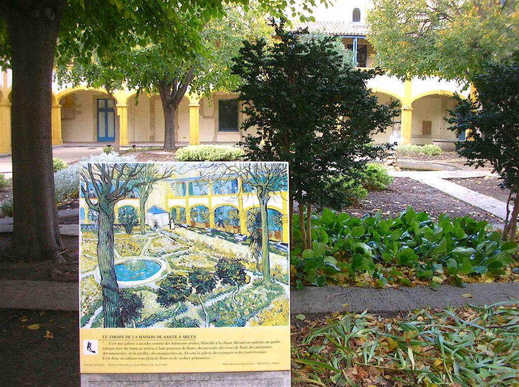 Espace Van Gogh – Arles – Le Jardin de la Maison de Santé a Arles