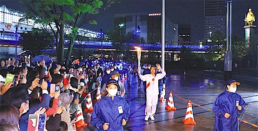 HIBINO Katsuhiko Olympic torchbearer 日比野克彦@東京五輪聖火リレー