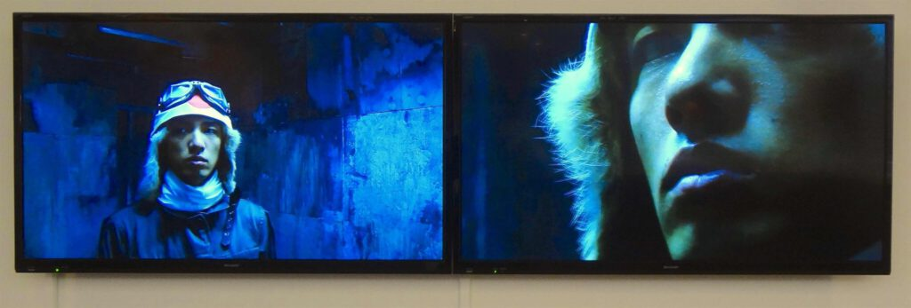 "KOIZUMI Meiro 小泉明郎 「若き侍の肖像」""Portrait of a Young Samurai""2009"