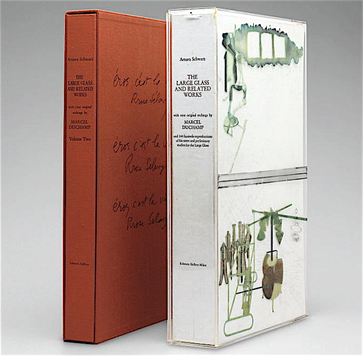 MARCEL DUCHAMP Arturo Schwarz, The Large Glass and Related Works, Vols. I-II, Milan, Schwarz Gallery, 1967-8