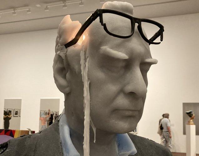 Urs Fischer (Rudi Candle) 2021