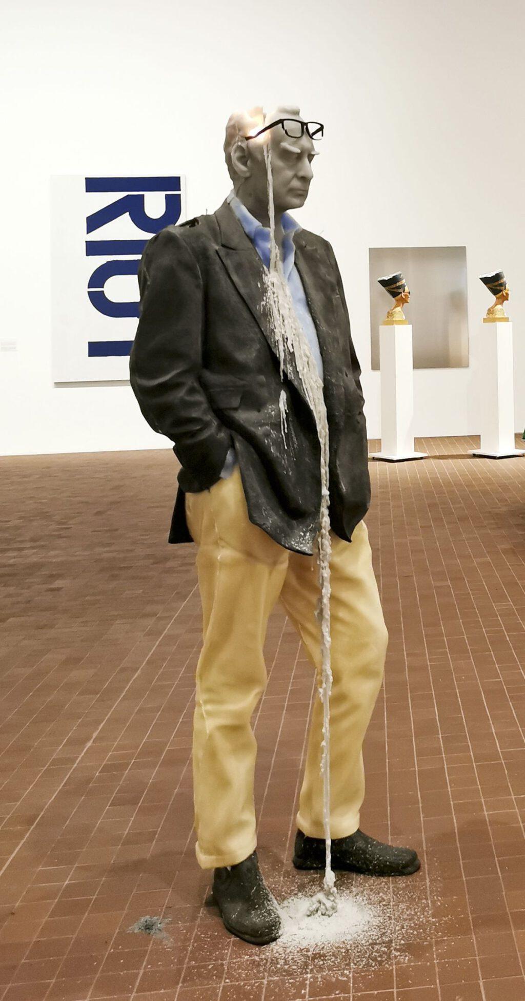 "Urs Fischer ""Untitled"" (2011) (Rudi Candle) @ Collection Maja Hoffmann, LUMA Arles"