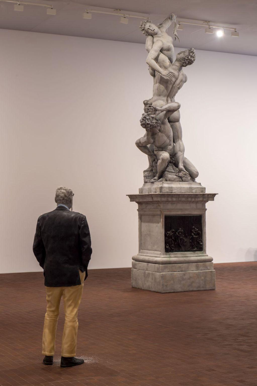 "Urs Fischer ""Untitled"" (2011) (Rudi Candle : The Rape of the Sabine Women) @ Collection Maja Hoffmann, LUMA Arles 2021"