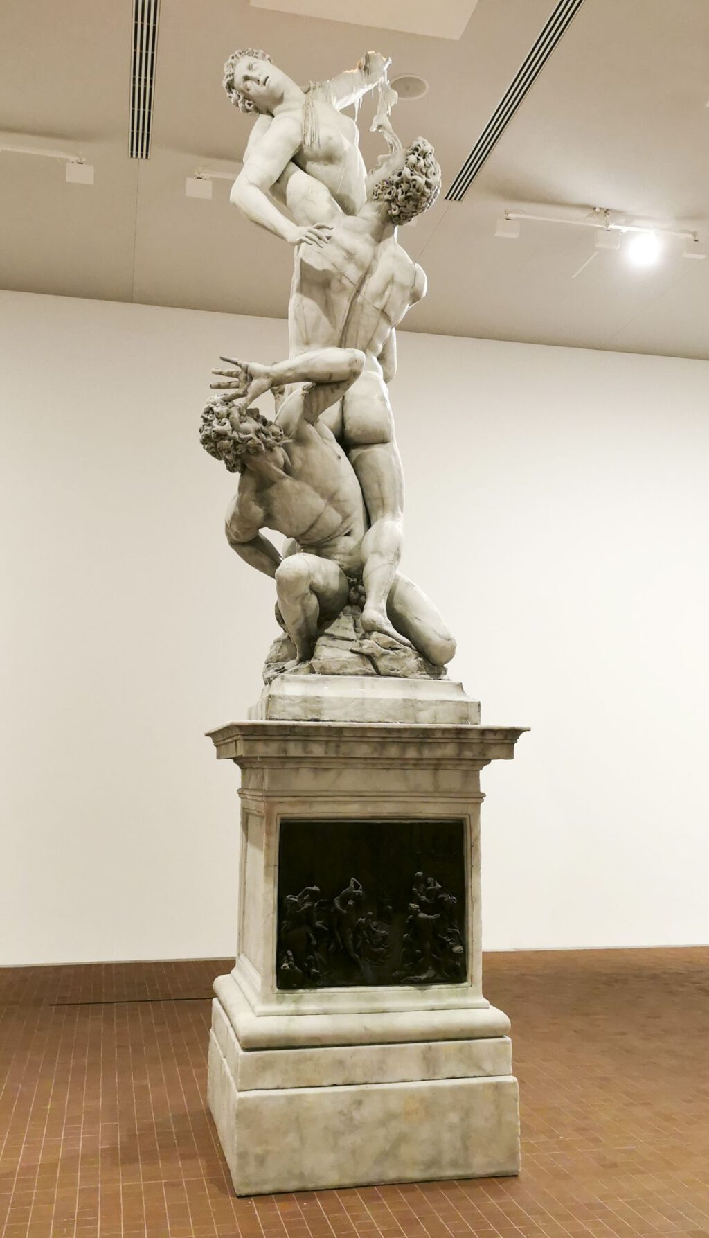 "Urs Fischer ""Untitled"" (2011) (The Rape of the Sabine Women) @ Collection Maja Hoffmann, LUMA Arles 2021"