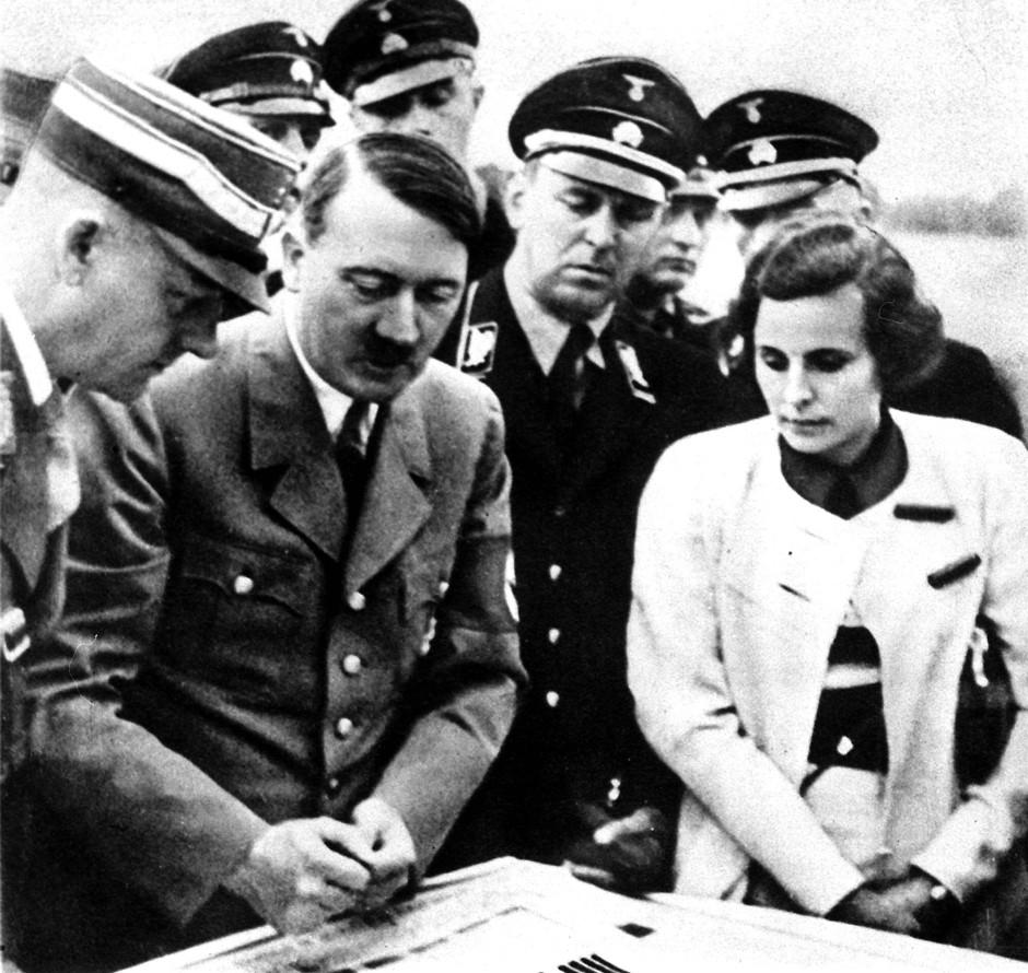 レニ・リーフェンシュタールとアドルフ・ヒトラー