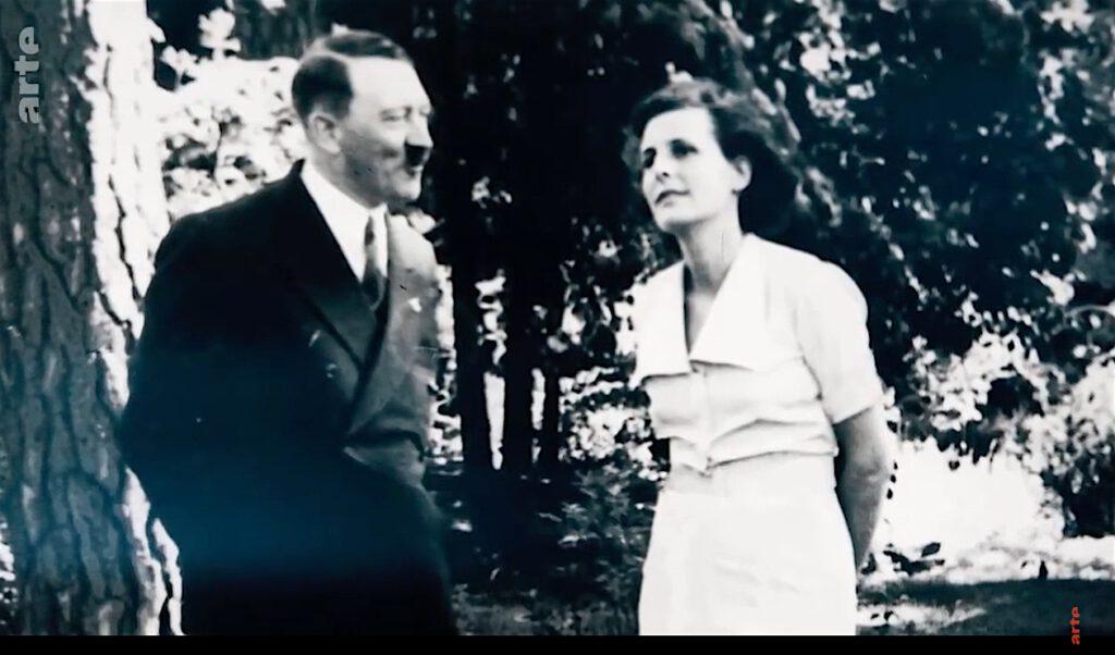 レニ・リーフェンシュタール+アドルフ・ヒトラー、プライベート