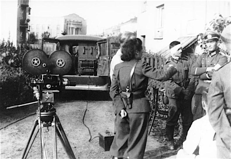 レニ・リーフェンシュタール Leni Riefenstahl 1939 in Polen