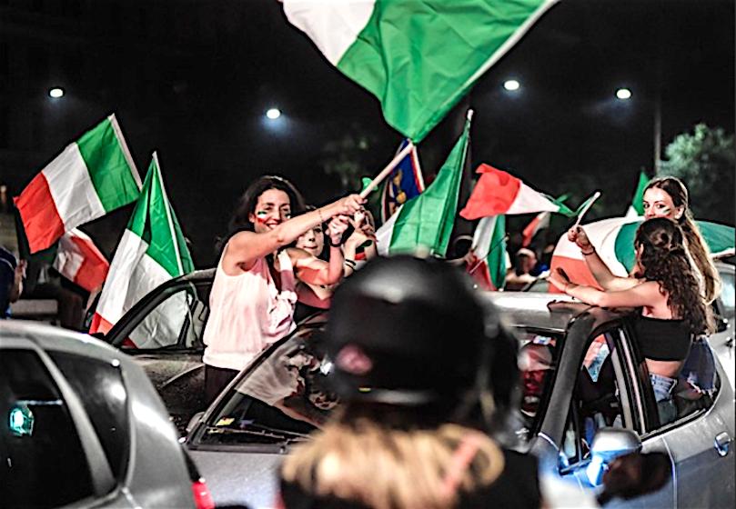 昨夜のイタリア3