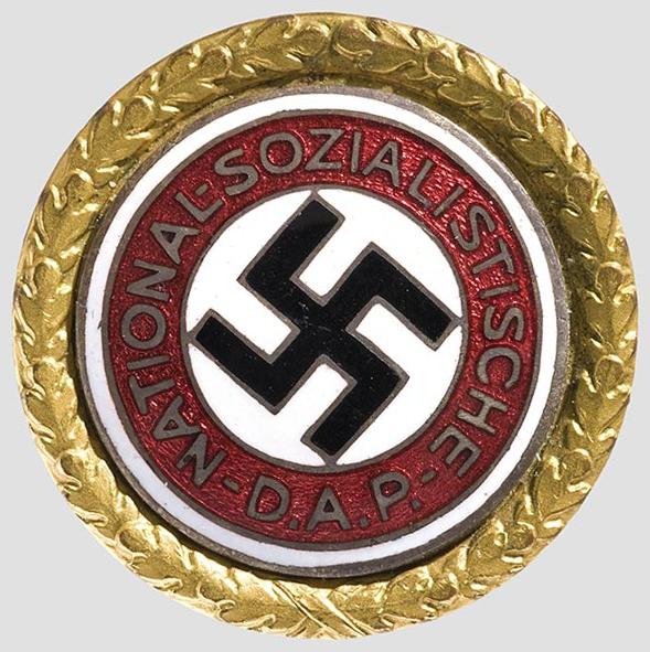 黄金ナチ党員バッジ
