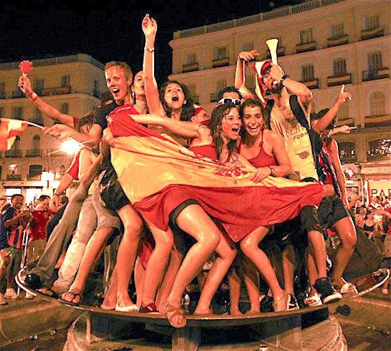 11年前のスペイン