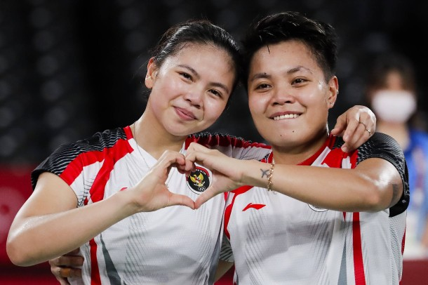 Greysia Polii and Apriyani Rahayu, Badminton, Gold, Indonesia
