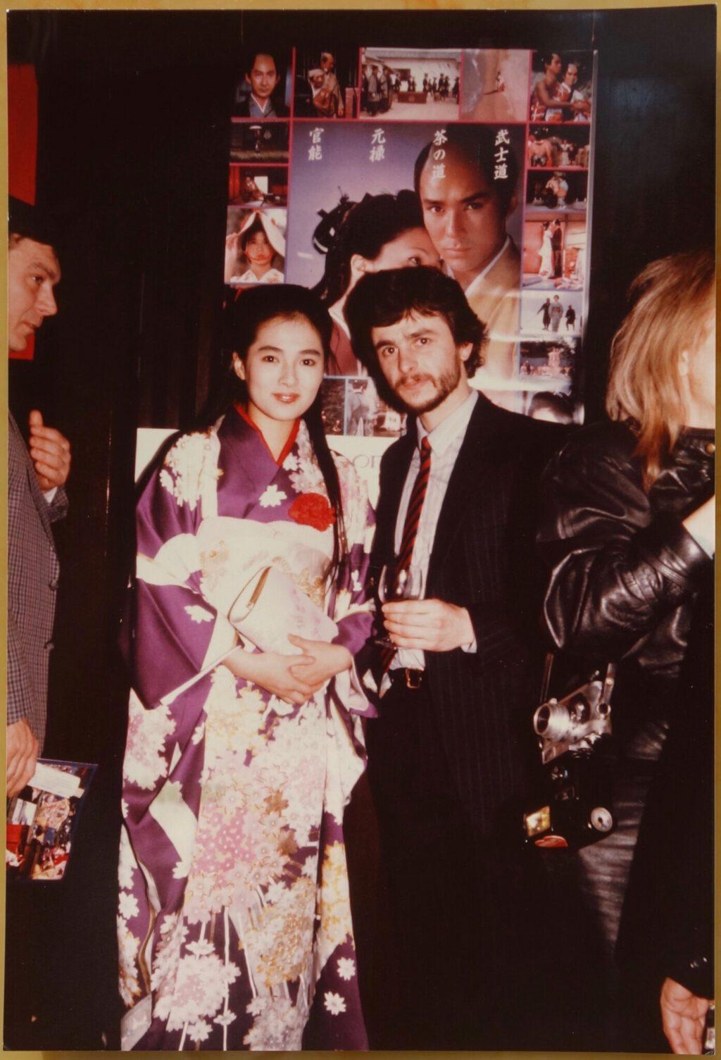 Kaori und ich 1986, Berlin