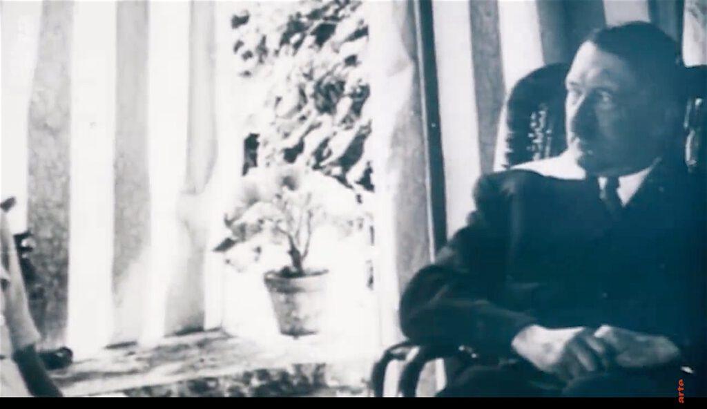 Leni Riefenstahl and Adolf Hitler in private (screenshot ARTE Doku)