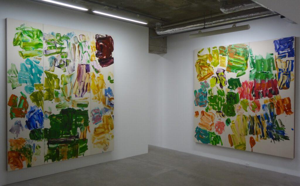OKAZAKI Kenjiro 岡﨑乾二郎 installation view @ Takuro Someya Contemporary Art 2016