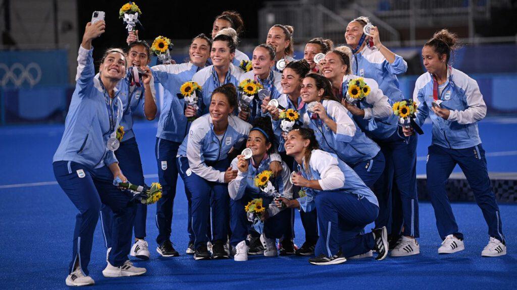 Women's hockey, Silver, Argentina