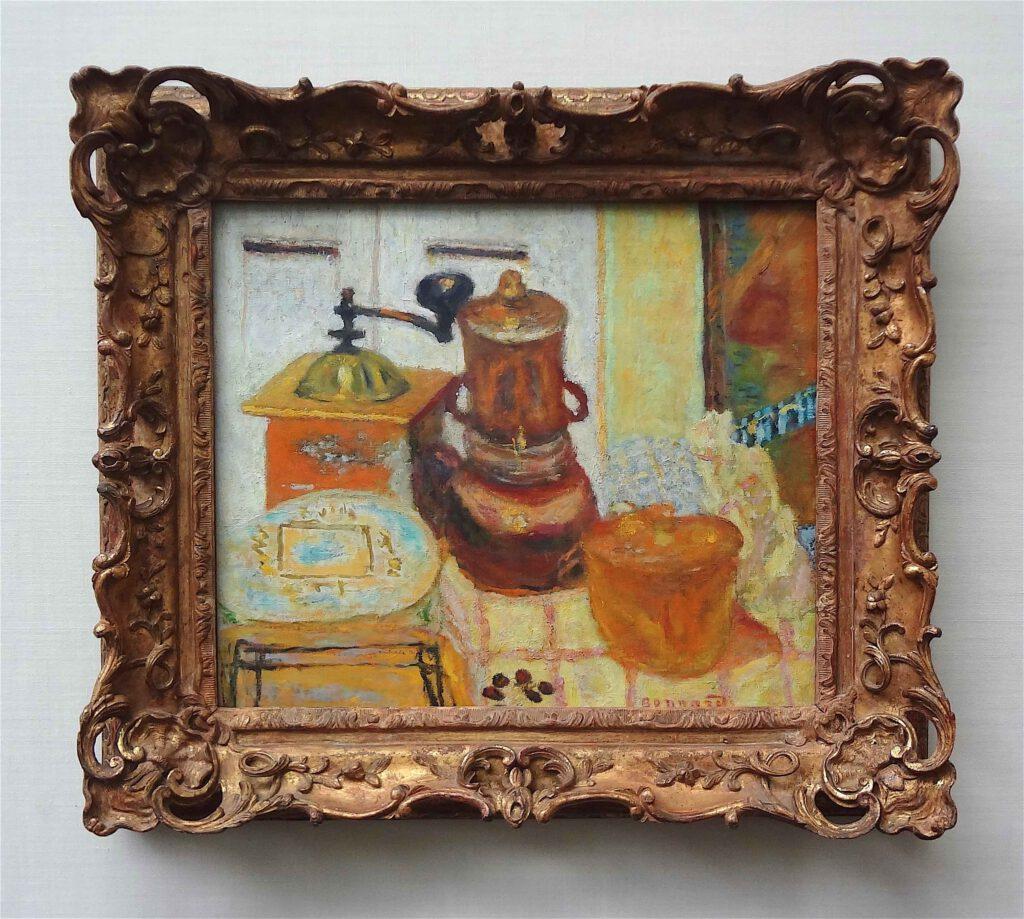 ピエール・ボナール「コーヒーグラインダー」1930年、ウィンタートゥール