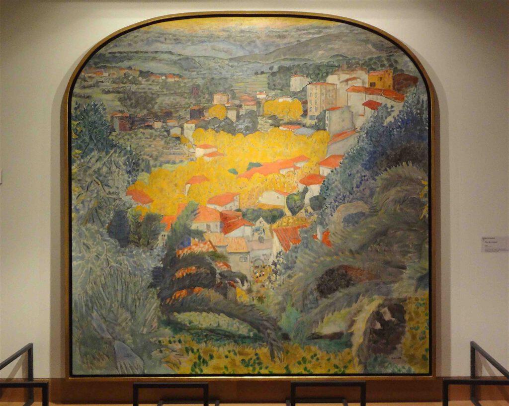 ピエール・ボナール「ル・カネの風景」1927年、ボナール美術館
