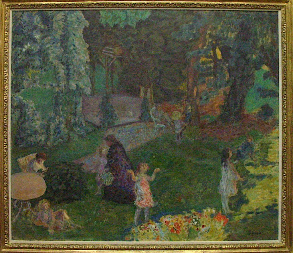 ピエール・ボナール「家族」1901年、チューリッヒ