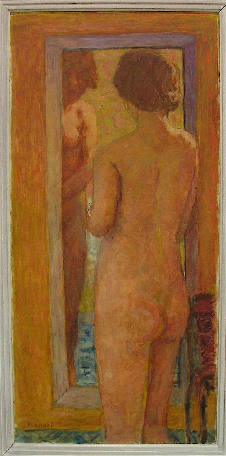ピエール・ボナール「浴室の女性」1934年頃、パリ