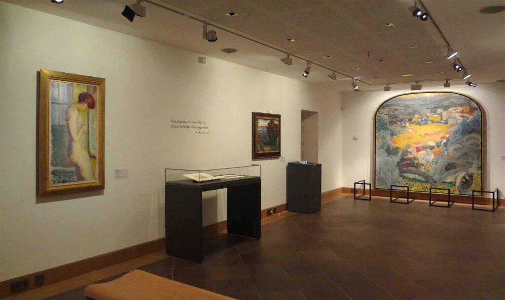 ピエール・ボナール 展示風景、ボナール美術館