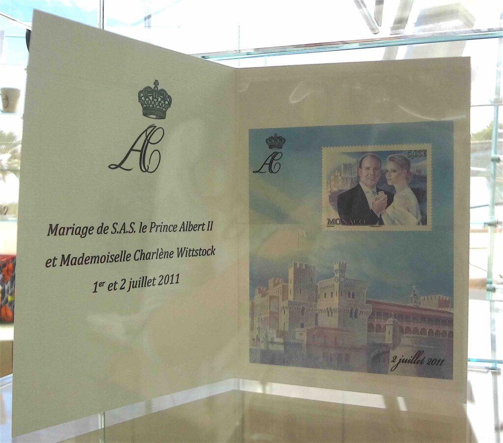 モナコ公国の君主アルベール2世とシャルレーヌ (モナコ公妃)の結婚記念日