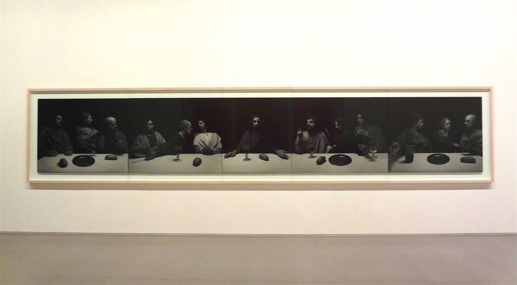 """杉本博司 Hiroshi Sugimoto """"The Last Supper"""" 1999, Black and white silver gelatin prints"""