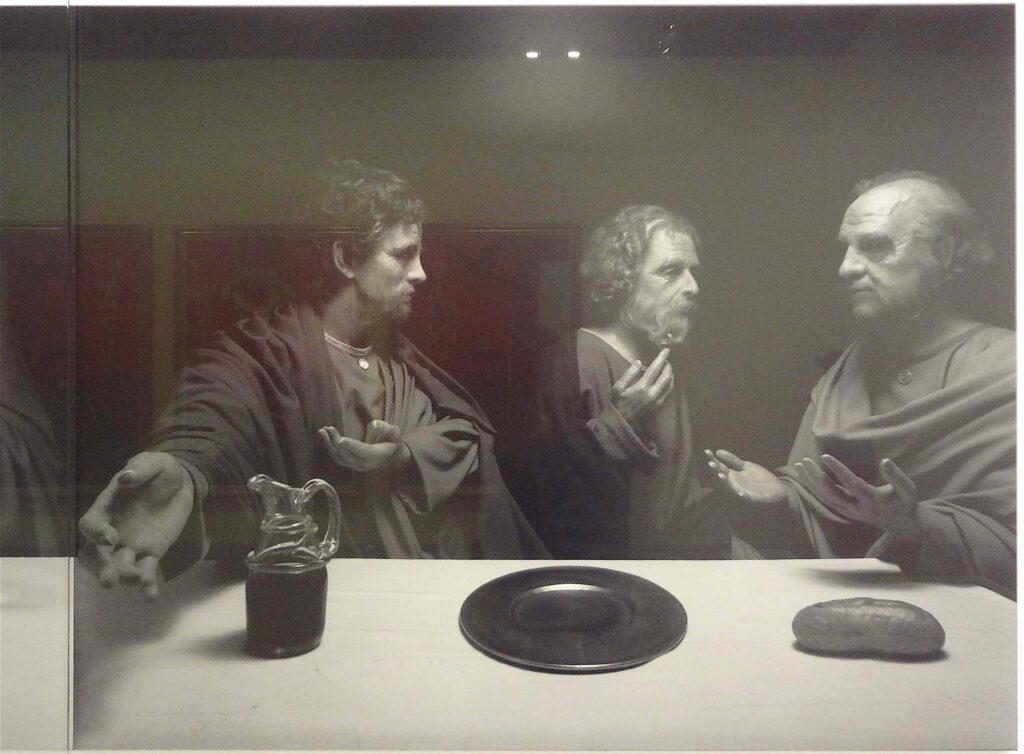 """杉本博司 Hiroshi Sugimoto """"The Last Supper"""" 1999, Black and white silver gelatin prints, detail1"""
