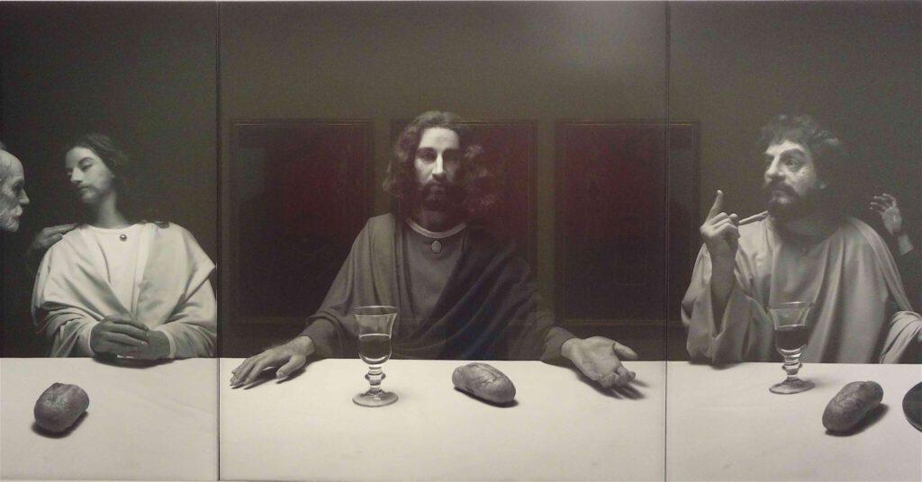 """杉本博司 Hiroshi Sugimoto """"The Last Supper"""" 1999, Black and white silver gelatin prints, detail3"""