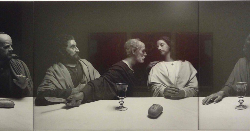 """杉本博司 Hiroshi Sugimoto """"The Last Supper"""" 1999, Black and white silver gelatin prints, detail4"""