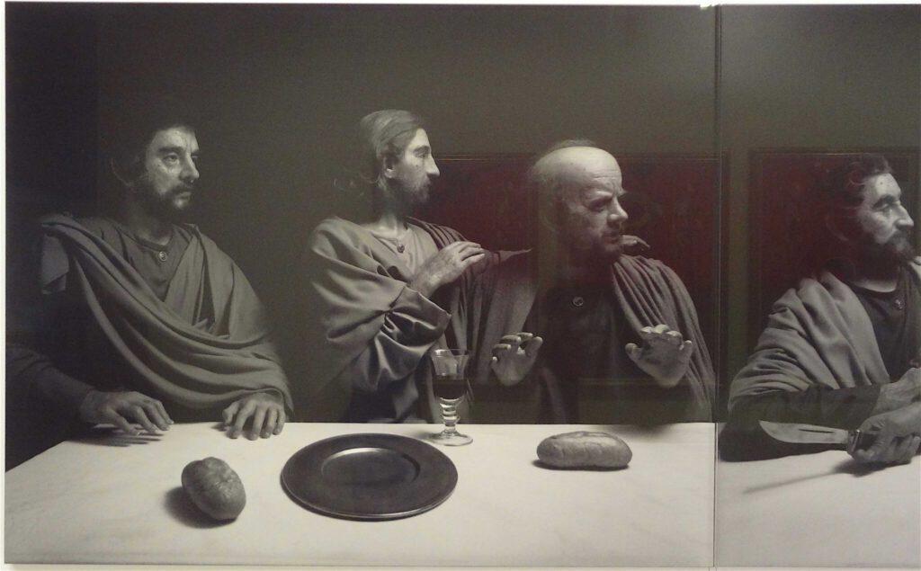 """杉本博司 Hiroshi Sugimoto """"The Last Supper"""" 1999, Black and white silver gelatin prints, detail5"""