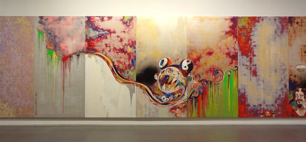 """村上隆 Takashi Murakami """"727-272 The Emergence of God At The Reversal of Fate"""" 2006-2009 (センター)"""