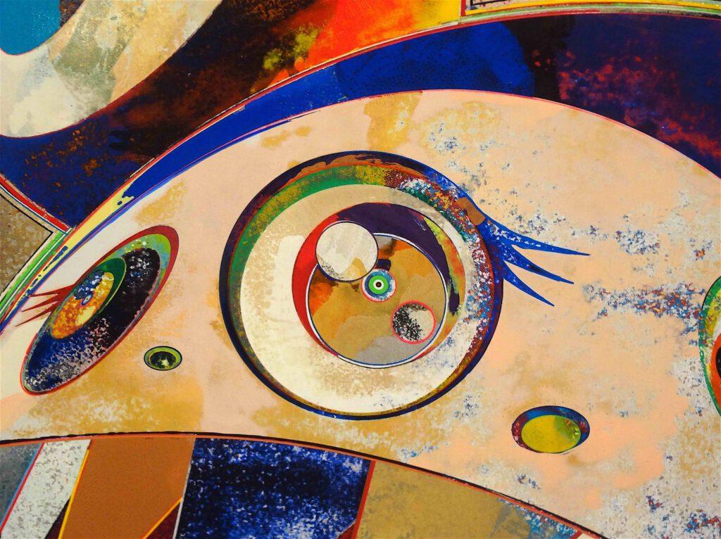 """村上隆 Takashi Murakami """"727-272 The Emergence of God At The Reversal of Fate"""" 2006-2009, detail10"""