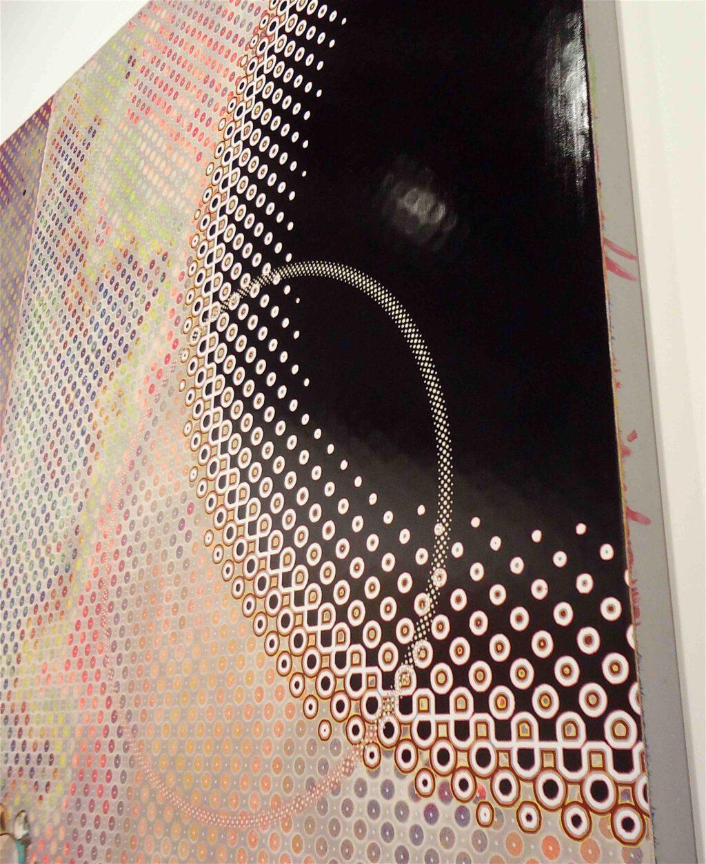 """村上隆 Takashi Murakami """"727-272 The Emergence of God At The Reversal of Fate"""" 2006-2009, detail16"""