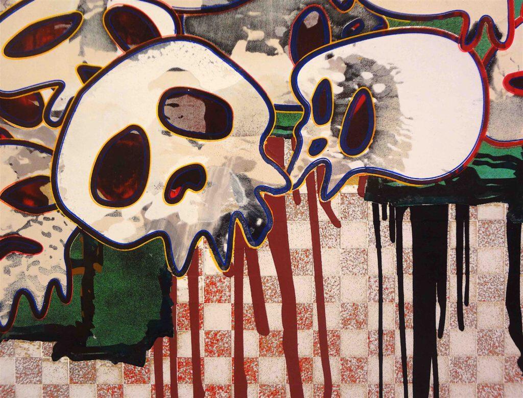 """村上隆 Takashi Murakami """"727-272 The Emergence of God At The Reversal of Fate"""" 2006-2009, detail17"""