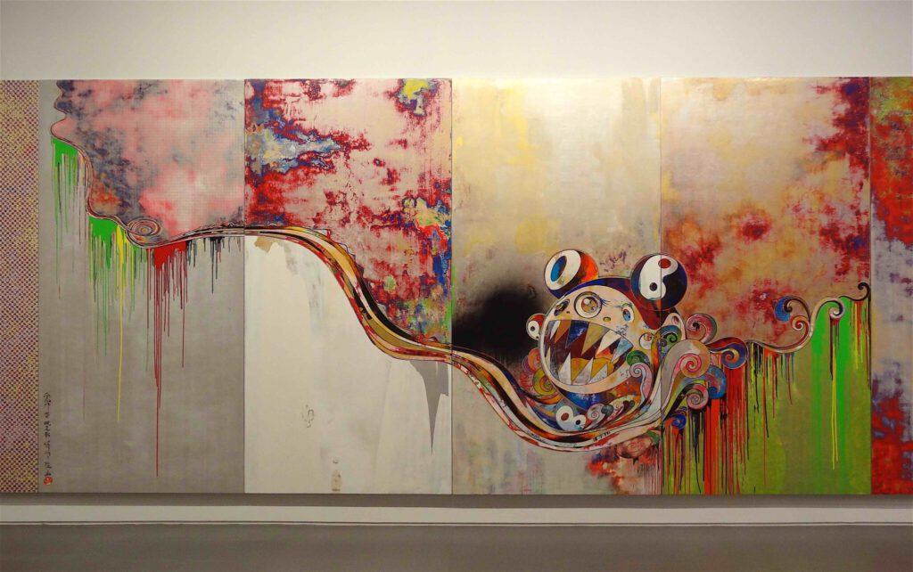 """村上隆 Takashi Murakami """"727-272 The Emergence of God At The Reversal of Fate"""" 2006-2009, detail5"""