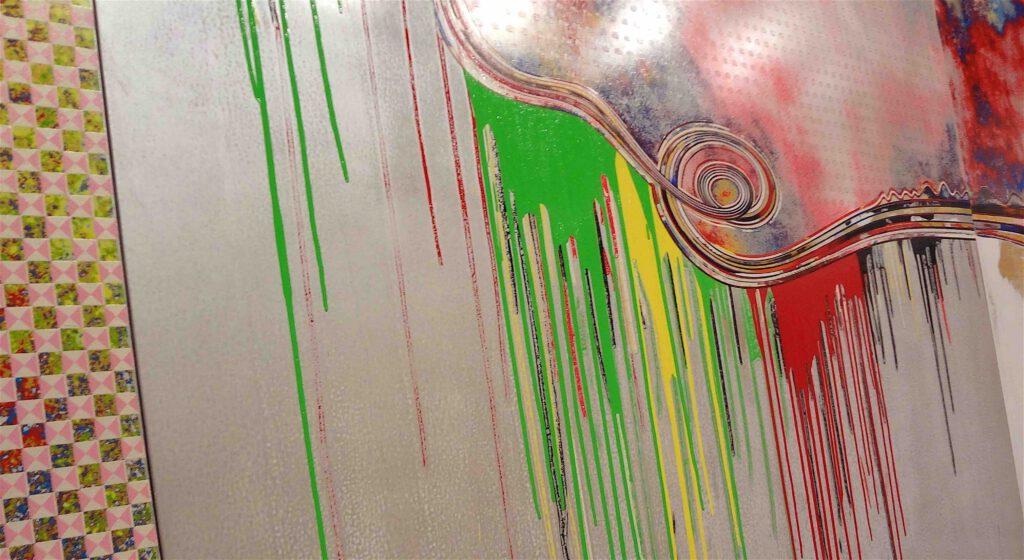 """村上隆 Takashi Murakami """"727-272 The Emergence of God At The Reversal of Fate"""" 2006-2009, detail7"""