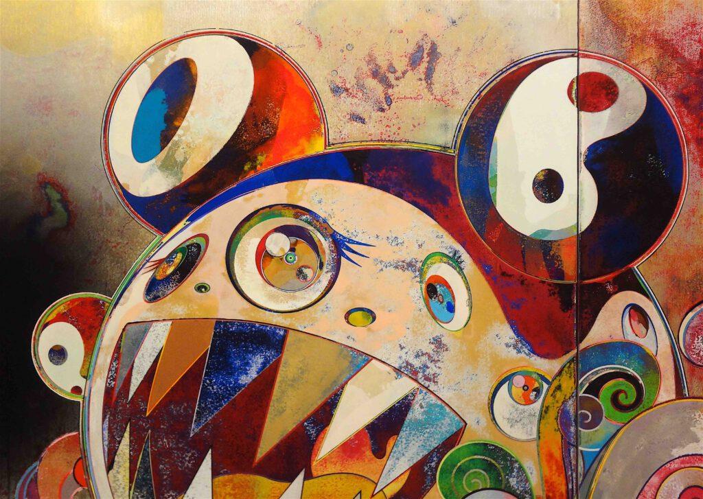"""村上隆 Takashi Murakami """"727-272 The Emergence of God At The Reversal of Fate"""" 2006-2009, detail9"""