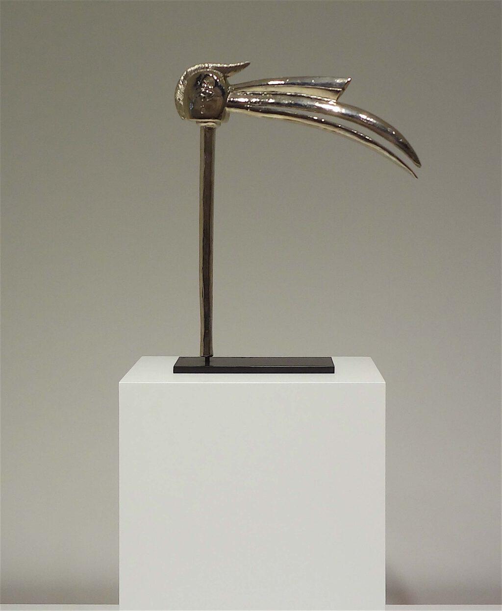 """Bertrand Lavier """"Toko"""" 2008, Nickel plated bronze"""