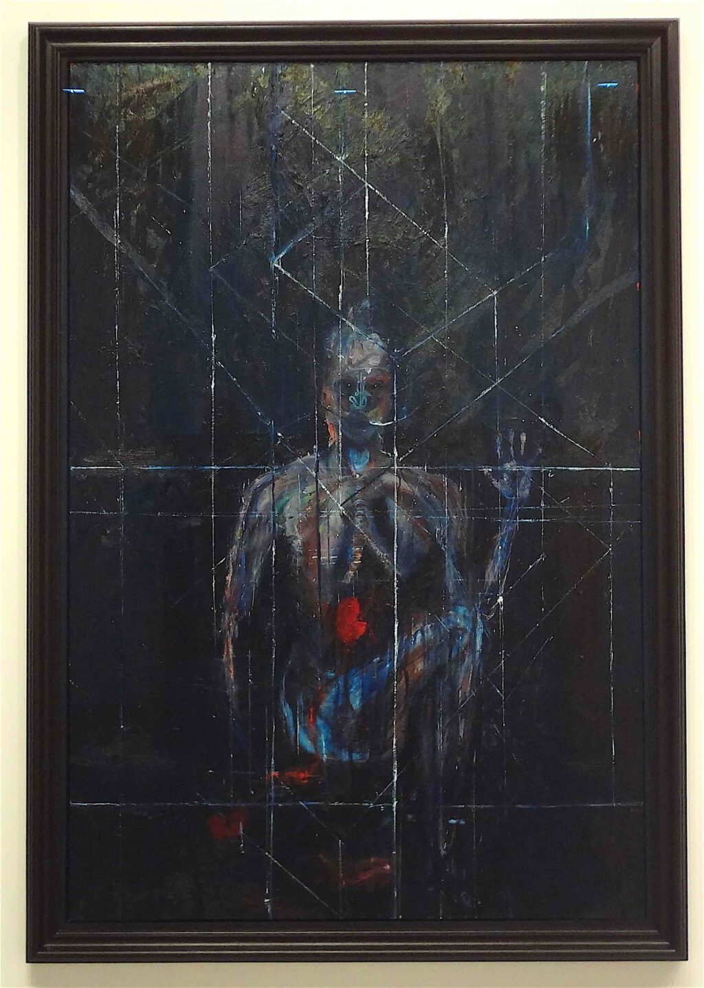 """Damian Hirst """"Turn Away From Me"""" 2009, Oil on canvas"""