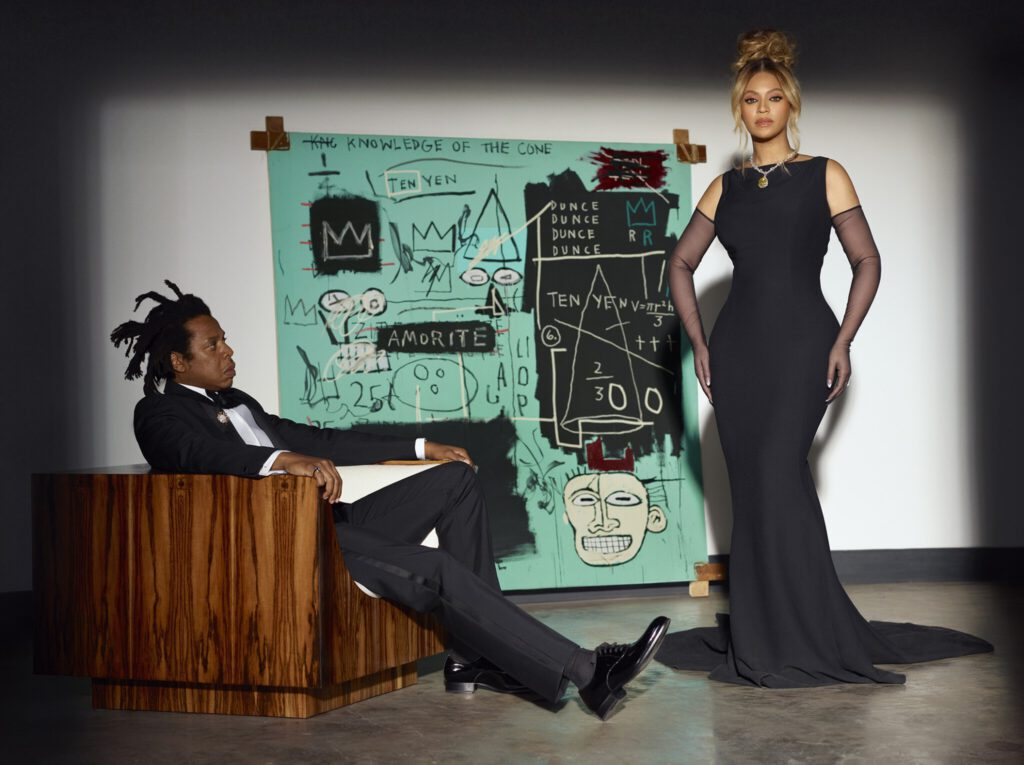 Jay-Z and Beyoncé in the new Tiffany campaign, courtesy Tiffany & Co.