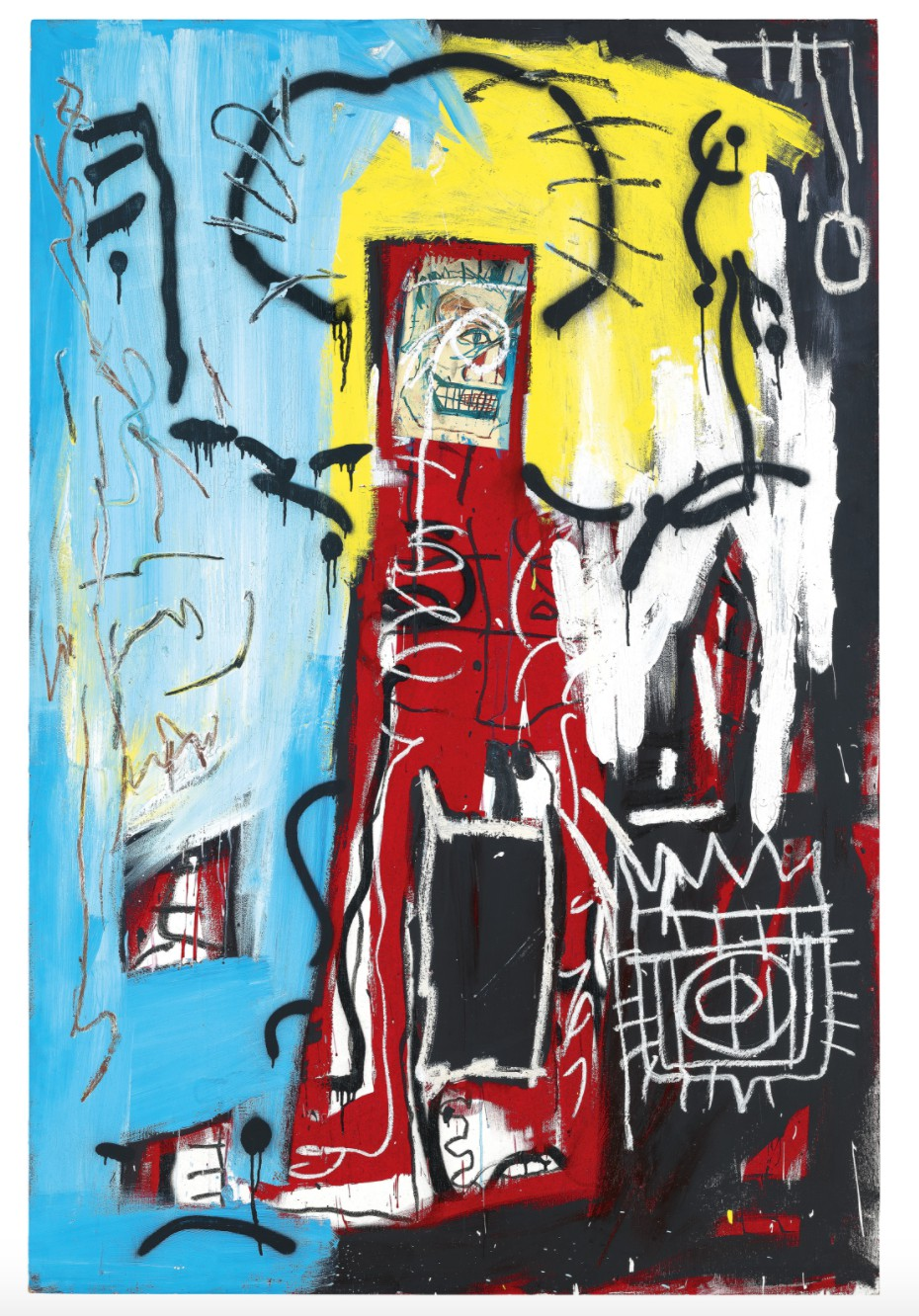 Jean-Michel Basquiat, Untitled (One Eyed Man or Xerox Face), 1982