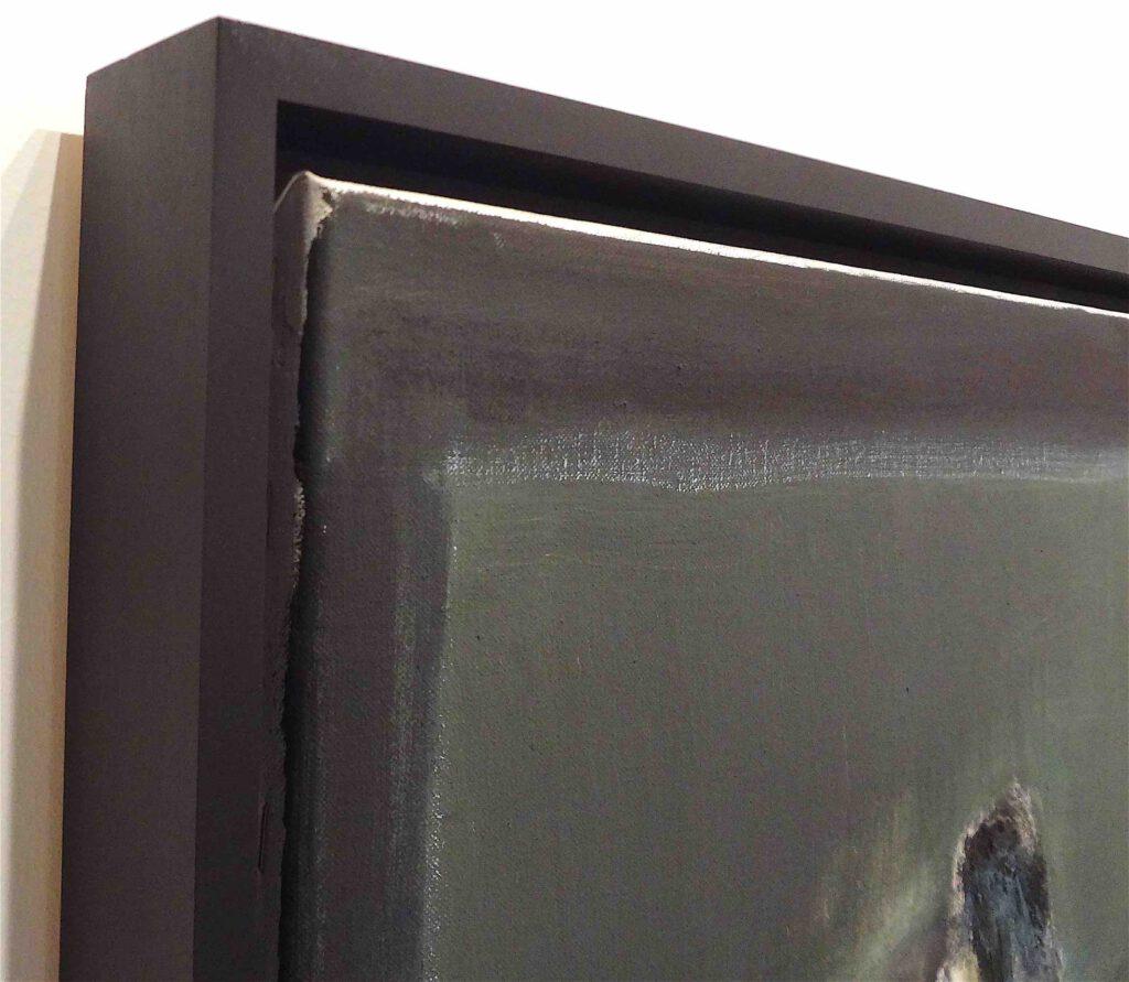 "Marlene Dumas ""Gelijkenis I & II"" 2002, Diptych, oil on canvas, detail"