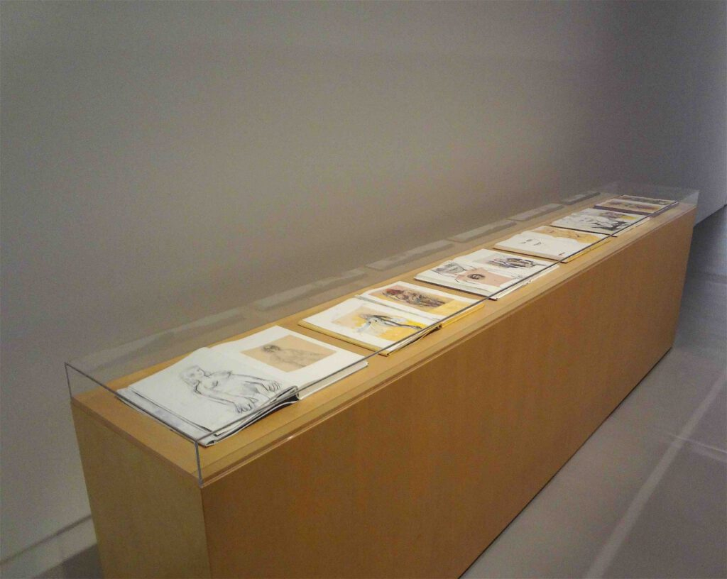 """Richard Prince """"Untitled (With de Kooning)"""" 2005, 6 books with mixed media"""