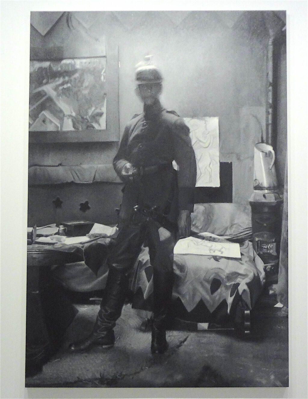 "Rudolf Stingel ""Untitled (Ernst Ludwig Kirchner)"" 2010, Oil on canvas"